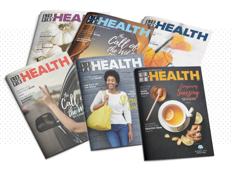 About Life & Health Magazine | Life & Health | © 2018 True North Custom